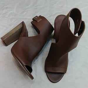 Vince Addie Slingback Leather Heels